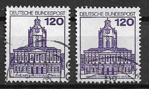 GERMANY  1982 - used - from set