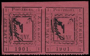 Transvaal Scott 179 Gibbons P26 Mint Stamp