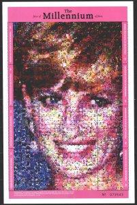 Micronesia. 1999. Small sheet 816-23. Millennium, Princess Diana. MNH.