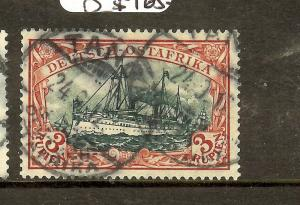 GERMAN EAST AFRICA (B1702B) 3R BOAT SC41 TANGA  SON CDS VFU