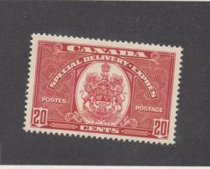 CANADA (MK103) # E8  VF-MLH  20cts SPECIAL DELIVERY/ DARK CARMINE CAT VALUE $50