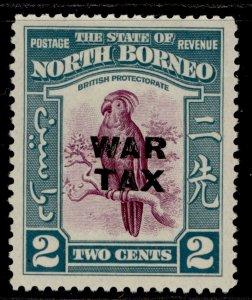 NORTH BORNEO GVI SG319, 2c purple & greenish blue, M MINT. Cat £12.