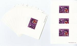 Laos Stamps #C115 15 Deluxe Proof Sheets in perfect condition