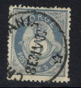 Norway SC# 24a, Used, Hinge Remnant -  Lot 05222016