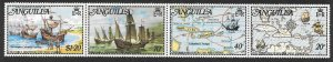 ANGUILLA SG160a 1973 COLUMBUS DISCOVERS THE WEST INDIES MNH