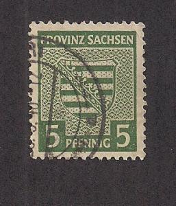 GERMANY - DDR SC# 13N3 VF U 1945