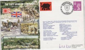 GB 1993 Arakan Campaign RAF Signed Cover J3834