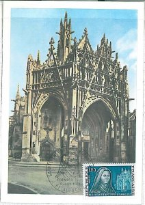 26310 - FRANCE - POSTAL HISTORY - MAXIMUM CARD 1973 - ARCHITECTURE Cathedral