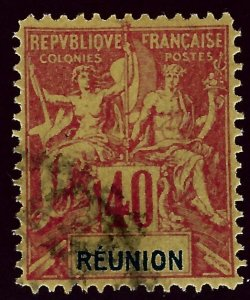 Reunion #47 Mint F-VF SCV$19.00...Popular British Island Country!