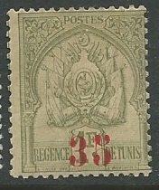 Tunisia    Scott # 59 - MH