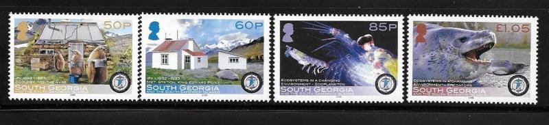 South Georgia 2008 Int´l Polar Year Leopard Seal Zoological Buiding MNH
