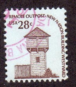 United States 1604 - Used - Fort Nisqually (1)