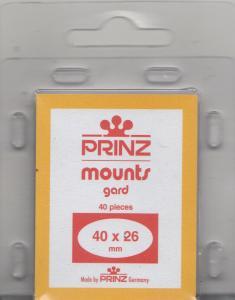 PRINZ BLACK MOUNTS 40X26 (40) RETAIL PRICE $3.99