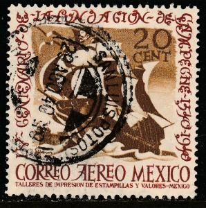 MEXICO C111,  20cts 400th Anniversary of Campeche. USED. VF. (880)