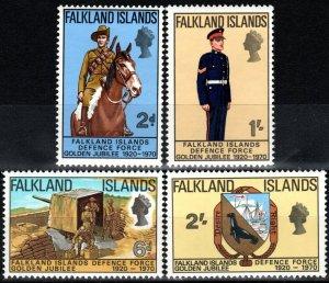 Falkland Islands #188-91  MNH CV $8.05 (X8552)