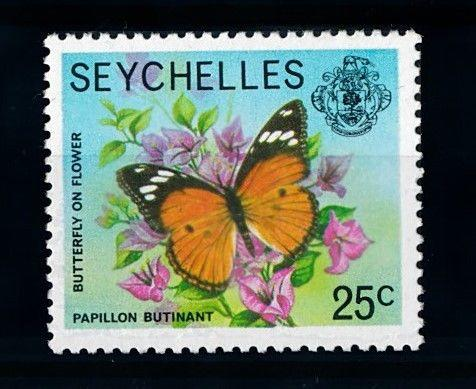 [70724] Seychelles 1978 Insect Butterfly From set MNH