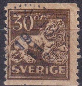 Sweden #125  F-VF Used CV $18.00  (Z1768)