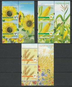 Moldova 2019 Field Crops 6 MNH stamps