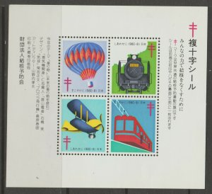 Japan Cinderella seal TB Charity revenue stamp 5-03-26 mint