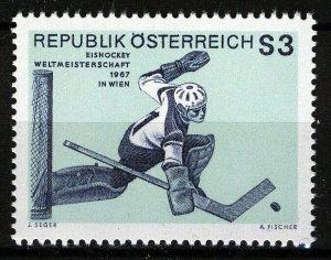 Austria 1967, Ice Hockey World Championship, Vienna VF MNH, Mi 1235