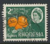 Rhodesia   SG 398  Used  Oranges Litho Printing   see details