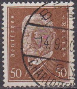 Germany #381 F-VF Used CV $2.50 (ST1169)