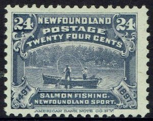 NEWFOUNDLAND 1897 400TH ANIVERSARY 24C FISHING BOAT
