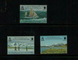 South Georgia, 2000 Shackleton's Trans-Antarctic Trek Commemoration  MNH set