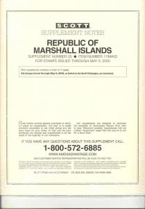 Marshall Islands Supplement # 20