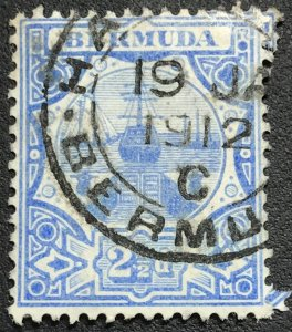 Bermuda #38 Used Single w/CDS Cancel Dry Dock L21