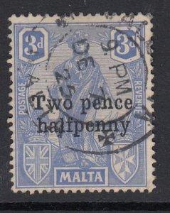 Malta Sc 115 (SG 141), used