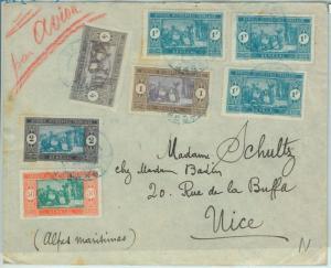 67333 -  Afrique Occidental SENEGAL - Postal History: COVER to FRACE 1930'S