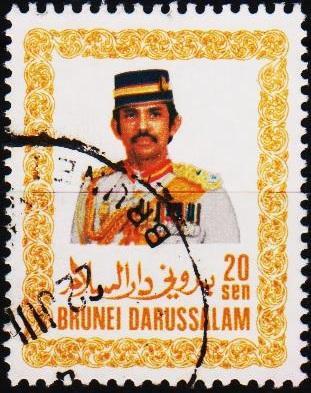 Brunei. 1985 20c. S.G.373 Fine Used