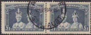 Australia 1938 SC 179a Pair Used