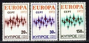 Cyprus #380-2 MNH CV $5.95 (X189)