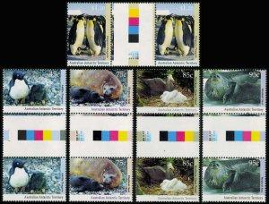 Australian Antarctic Territory Scott L83-L87 Mint never hinged.