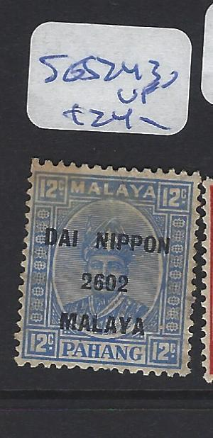 MALAYA JAPANESE OCCUPATION PAHANG (P0108B)  12C  DN  SG J243  VFU