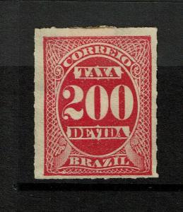 Brazil SC# J5 Mint No Gum / Hinge & Sm Page Rem - S7176