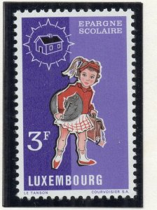 Luxembourg 1971 Early Issue Fine Mint Hinged 3F. NW-135484