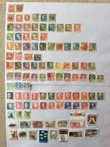 Denmark 100+ stamps - Lot G
