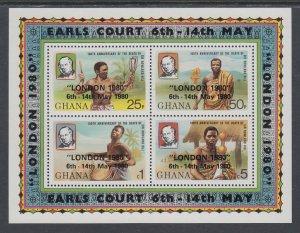Ghana 718 Souvenir Sheet MNH VF