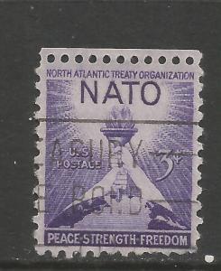 UNITED STATES 1008 VFU NATO C127-1