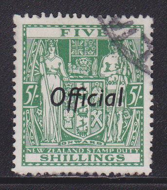 New Zealand O75 VF neat cancel cv $ 48 ! see pic !