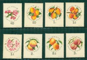 R4-0006 (2) HUNGARY 1607-14 MNH  FLOWERS SCV $2.70 BIN $1.50 (18)