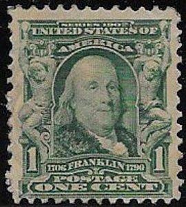 U.S. Stamp SC 300 , on paper, mnh