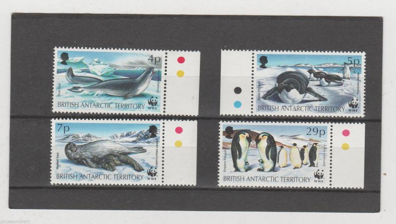 BRITISH ANTARCTIC TERRITORY  WWF ISSUE