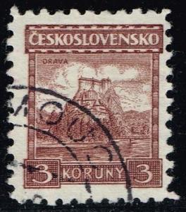 Czechoslovakia #136 Orava Castle; Used (0.25)