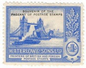 (I.B) Cinderella : Waterlow & Sons Ltd - Stamp Essay (Pool of London)