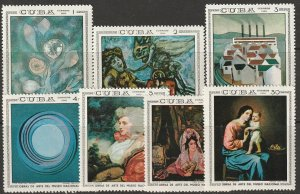 Cuba 1404-1409 complete set MNH