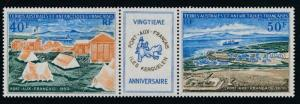 French Southern Antarctic Territory (FSAT) C25a Mint LH pair
